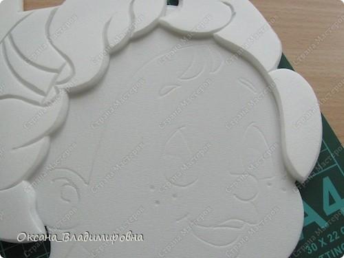 Мастер-класс Вырезание МК из потолочной плитки  фото 16