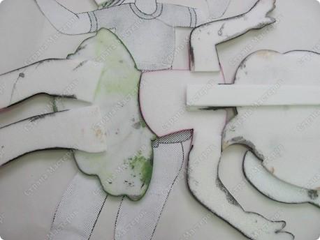 Мастер-класс Вырезание МК из потолочной плитки  фото 26