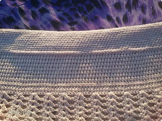 Связать пояс для юбки