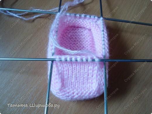 Вязание пинеток спицами для