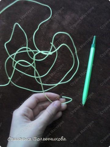 Вот простой способ украсить свою ручку. фото 2