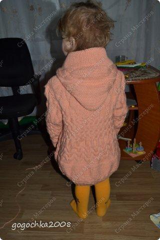 пальтишко для лапочки-дочки фото 3