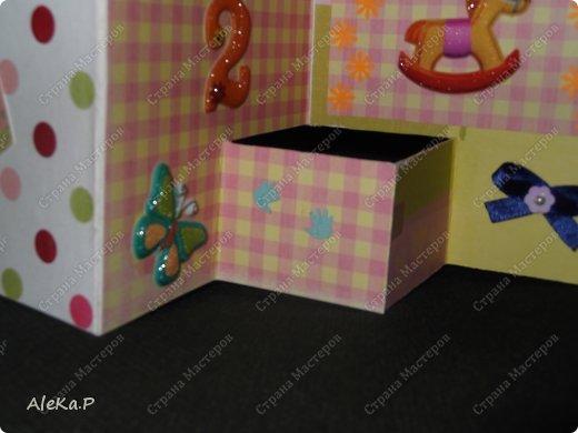 Маленький миник, открыточка на день рождения девочки Вики, ей 2 годика! фото 3
