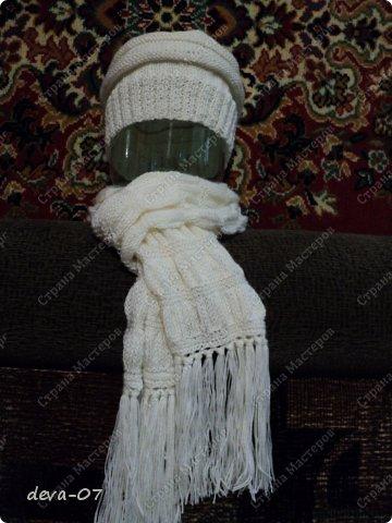 шапчонка плюс шарфик фото 17