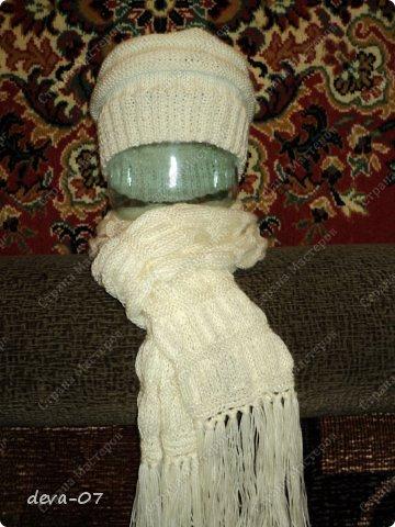 шапчонка плюс шарфик фото 1