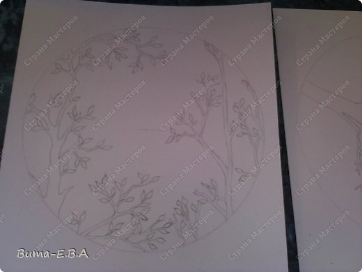 Поделка изделие День рождения Бумажный туннель Вырезание Птичий концерт  Бумага Клей фото 2