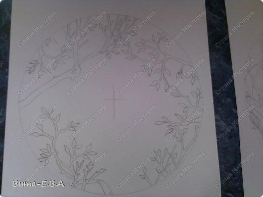 Поделка изделие День рождения Бумажный туннель Вырезание Птичий концерт  Бумага Клей фото 5
