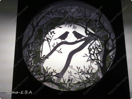 Поделка изделие День рождения Бумажный туннель Вырезание Птичий концерт  Бумага Клей фото 16