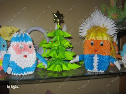 Спасибо мастера  за МК по изготовлению  елки и деда мороза... фото 3