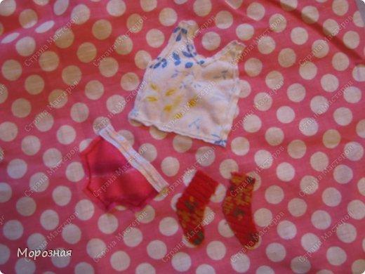 Сшила мешочки для одежды дочурке в садик. Но оставить их просто так показалось скучным и пришила вот такие аппликации-подсказки, что где лежит! фото 5