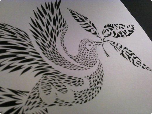 Здравствуйте мои дорогие!!!!! Хочу показать вам еще одну прелестную пташку из работ Lois Corderlia.  Когда я ее увидела, сразу загорелась желанием ее вырезать...  фото 2