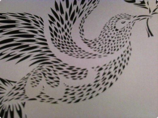 Здравствуйте мои дорогие!!!!! Хочу показать вам еще одну прелестную пташку из работ Lois Corderlia.  Когда я ее увидела, сразу загорелась желанием ее вырезать...  фото 5