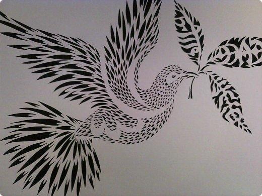 Здравствуйте мои дорогие!!!!! Хочу показать вам еще одну прелестную пташку из работ Lois Corderlia.  Когда я ее увидела, сразу загорелась желанием ее вырезать...  фото 6