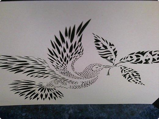 Здравствуйте мои дорогие!!!!! Хочу показать вам еще одну прелестную пташку из работ Lois Corderlia.  Когда я ее увидела, сразу загорелась желанием ее вырезать...  фото 7