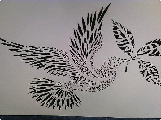 Здравствуйте мои дорогие!!!!! Хочу показать вам еще одну прелестную пташку из работ Lois Corderlia.  Когда я ее увидела, сразу загорелась желанием ее вырезать...  фото 8