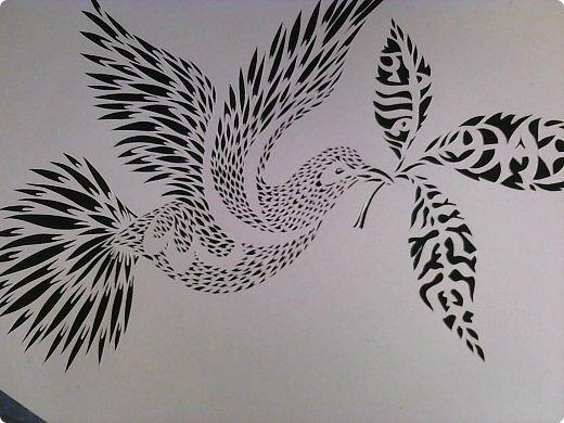Здравствуйте мои дорогие!!!!! Хочу показать вам еще одну прелестную пташку из работ Lois Corderlia.  Когда я ее увидела, сразу загорелась желанием ее вырезать...  фото 9