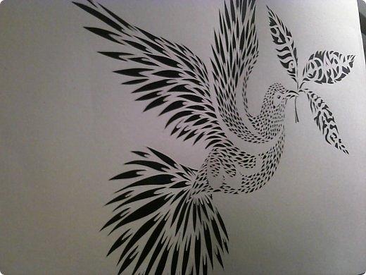 Здравствуйте мои дорогие!!!!! Хочу показать вам еще одну прелестную пташку из работ Lois Corderlia.  Когда я ее увидела, сразу загорелась желанием ее вырезать...  фото 10