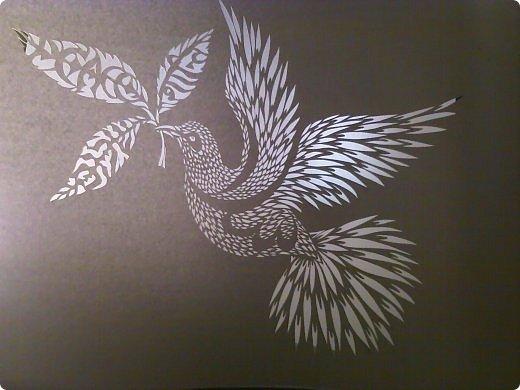 Здравствуйте мои дорогие!!!!! Хочу показать вам еще одну прелестную пташку из работ Lois Corderlia.  Когда я ее увидела, сразу загорелась желанием ее вырезать...  фото 13