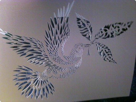 Здравствуйте мои дорогие!!!!! Хочу показать вам еще одну прелестную пташку из работ Lois Corderlia.  Когда я ее увидела, сразу загорелась желанием ее вырезать...  фото 14