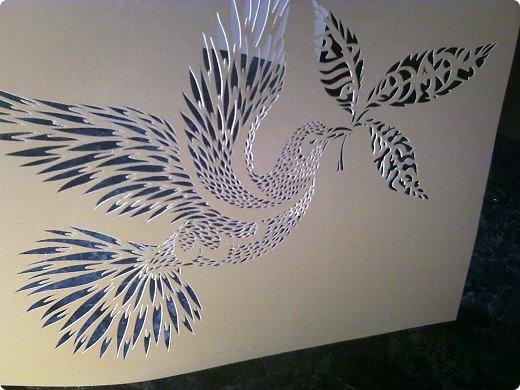 Здравствуйте мои дорогие!!!!! Хочу показать вам еще одну прелестную пташку из работ Lois Corderlia.  Когда я ее увидела, сразу загорелась желанием ее вырезать...  фото 15