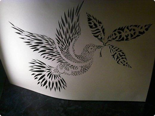 Здравствуйте мои дорогие!!!!! Хочу показать вам еще одну прелестную пташку из работ Lois Corderlia.  Когда я ее увидела, сразу загорелась желанием ее вырезать...  фото 16