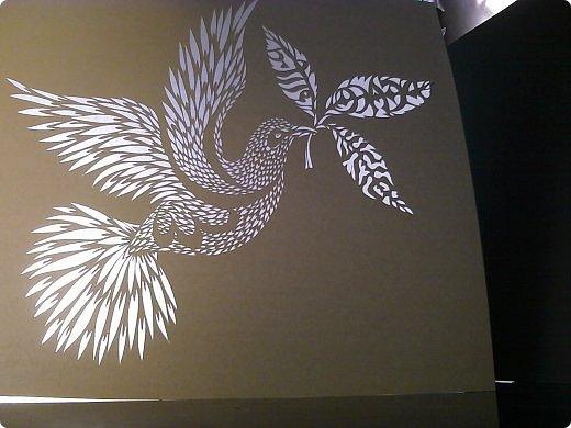 Здравствуйте мои дорогие!!!!! Хочу показать вам еще одну прелестную пташку из работ Lois Corderlia.  Когда я ее увидела, сразу загорелась желанием ее вырезать...  фото 17