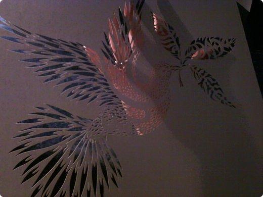 Здравствуйте мои дорогие!!!!! Хочу показать вам еще одну прелестную пташку из работ Lois Corderlia.  Когда я ее увидела, сразу загорелась желанием ее вырезать...  фото 20