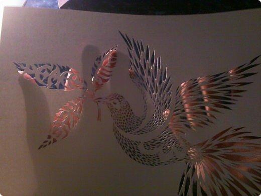 Здравствуйте мои дорогие!!!!! Хочу показать вам еще одну прелестную пташку из работ Lois Corderlia.  Когда я ее увидела, сразу загорелась желанием ее вырезать...  фото 21