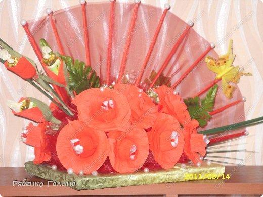 Свит-дизайн 8 марта День рождения Шитьё сладкие истории много работ Бисер Бумага гофрированная Бусинки Капрон Кружево...