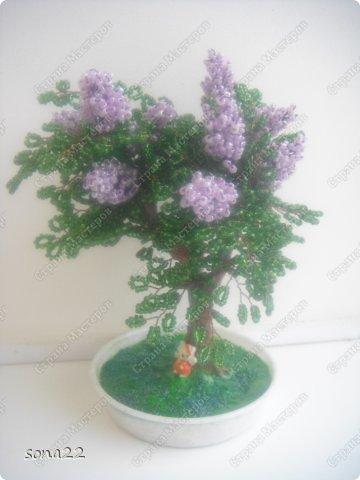 Деревья из бисера бисер фото 15