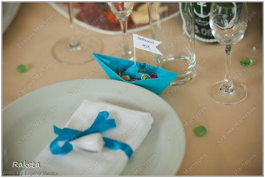 Декор предметов Свадьба Морская свадьба фото 27