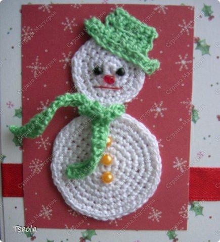 Всем доброго времени суток! Очередная порция открыток - сегодня со снеговиками.  фото 3