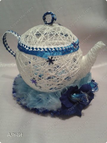 Конфетница Чайник фото 3
