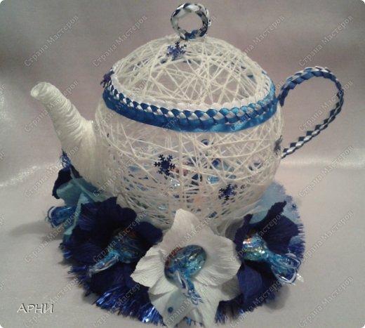 Конфетница Чайник фото 5