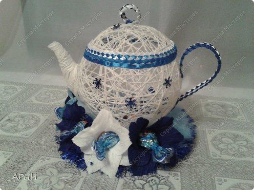 Конфетница Чайник фото 1