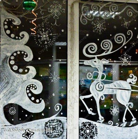 Как и что нарисовать на стеклах на новый год