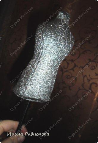Мастер-класс Поделка изделие Шитьё манекен -игольница Кружево Тесьма шнур Ткань фото 6