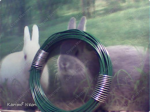 Нужно было по-быстрому сделать змейку. Вот и получилась из гибкой подводки от смесителя.  фото 6