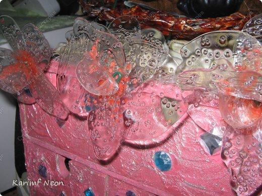 Раньше делал цветы из клея ПВА http://stranamasterov.ru/node/151707 Теперь пришла очередь клея ТИТАН фото 9