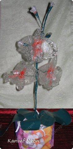 Раньше делал цветы из клея ПВА http://stranamasterov.ru/node/151707 Теперь пришла очередь клея ТИТАН фото 19