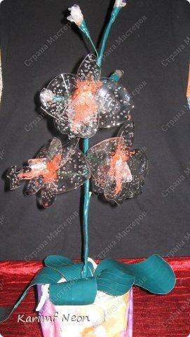 Раньше делал цветы из клея ПВА http://stranamasterov.ru/node/151707 Теперь пришла очередь клея ТИТАН фото 21