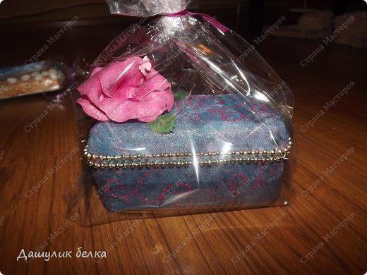коробочка от конфет))