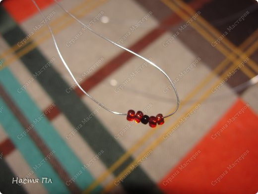 Мастер-класс Поделка изделие Бисероплетение МК божья коровка Бисер фото 3.