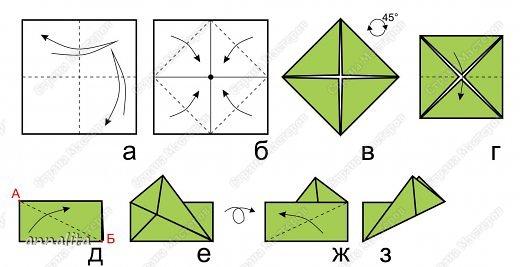 Фоторамки из бумаги оригами своими руками
