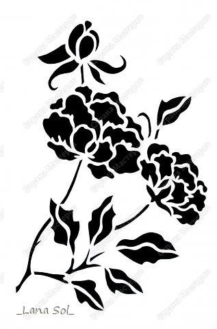 Картина панно рисунок Вырезание Пионы Бумага фото 2