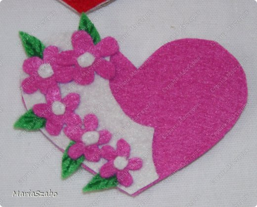 Сердечко для мамы из бумаги
