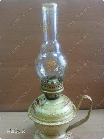 вот как выглядела лампа до эксперимента.. фото 5