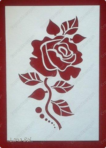 Картина панно рисунок Вырезание Работы кружковцев Бумага фото 1