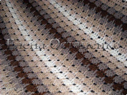 Вязание из столбиков без накида