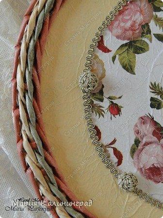 Мастер-класс Поделка изделие Плетение мк трёхцветной косы и пара плетушек Бумага газетная Трубочки бумажные фото 5